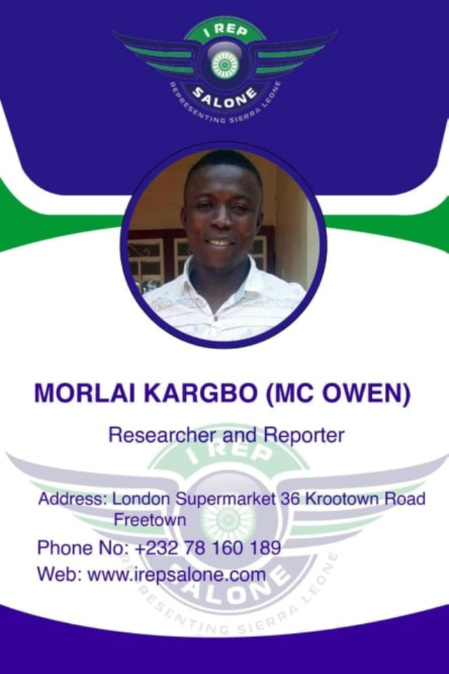 Morlai Kargbo (MC Owen)