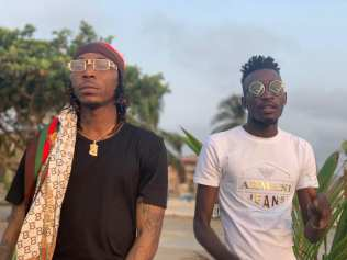 Sierra Leonean Markmuday collaborating with Nigerian artist Solidstar on an up-coming song15