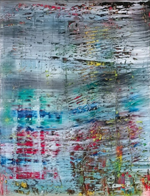 Gerhard Richter (German, b. 1932): Abstract Painting, 1990. Oil on canvas, 260 x 200 cm. Private Collection. Sold at Sotheby's, New York, 13 November 2012, Catalogue Raisonné: 712. Image: © Sotheby's, New York. © Gerhard Richter © This artwork may be protected by copyright. It is posted on the site in accordance with fair use principles.