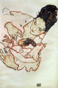 Egon Schiele: Nursing Mother (Stephanie Gruenwald), 1917.