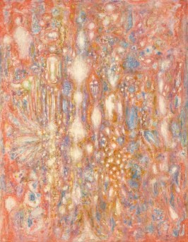 Richard Pousette-Dart (American, Abstract Expressionist, 1916–1992): The Fountain, 1960. Oil on canvas, 192 x 142 cm. © The Estate of Richard Pousette-Dart.