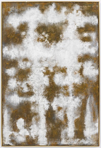Richard Pousette-Dart, Presence, 1956, oil on canvas. Photo: Kerry Ryan McFate ©2016 ESTATE OF RICHARD POUSETTE-DART/ARISTS RIGHTS SOCIETY (ARS), NEW YORK/KERRY RYAN MCFATE/COURTESY PACE GALLERY