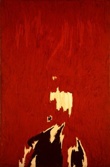 Clyfford Still (American, Abstract Expressionism, 1904-1980): Untitled, 1964. Oil on canvas. © Clyfford Still.