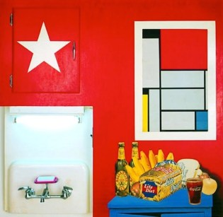 Tom Wesselmann (American, Pop Art, 1931-2004): Still Life #20, 1962. Mixed media, 41 x 48 x 5-1/2 inches (104.1 x 121.9 x 14 cm). Albright-Knox Art Gallery, Buffalo, New York, USA. © Estate of Tom Wesselmann / SODRAC, Montreal / VAGA, New York.