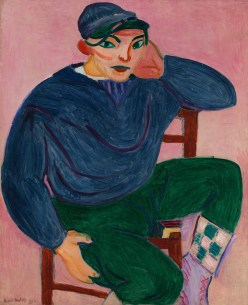 Henri Matisse (French, 1869-1954): Young Sailor II, 1906. Oil on canvas, 39-7/8 x 32-5/8 inches (101.3 x 82.9 cm). © Succession H. Matisse / Artists Rights Society (ARS), New York.