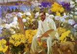 Joaquin Sorolla (Valencian Spanish, 1863-1923): Louis Comfort Tiffany, 1911. Oil on canvas, 150 x 225 cm. Hispanic Society of America, New York, NY, USA.