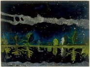 Peter Doig (Scottish, b. 1959): Milky Way, 1989–1990. Oil on canvas. Victoria Miro Gallery, London, UK. © Peter Doig.