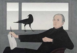 Will Barnet (American, 1911-2012): Self-Portrait, 1981. National Academy Museum, New York, NY, USA. © Will Barnet.