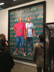 Kehinde Wiley: Jose Alberto de la Cruz Diaz and Luis Nunez, 2016. Galerie Daniel Templon, Paris / Brussels.