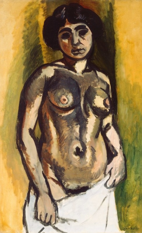 Nude, Black and Gold, by Henri Matisse, 1908. From The State Hermitage Museum, St. Petersburg/© Succession H. Matisse.