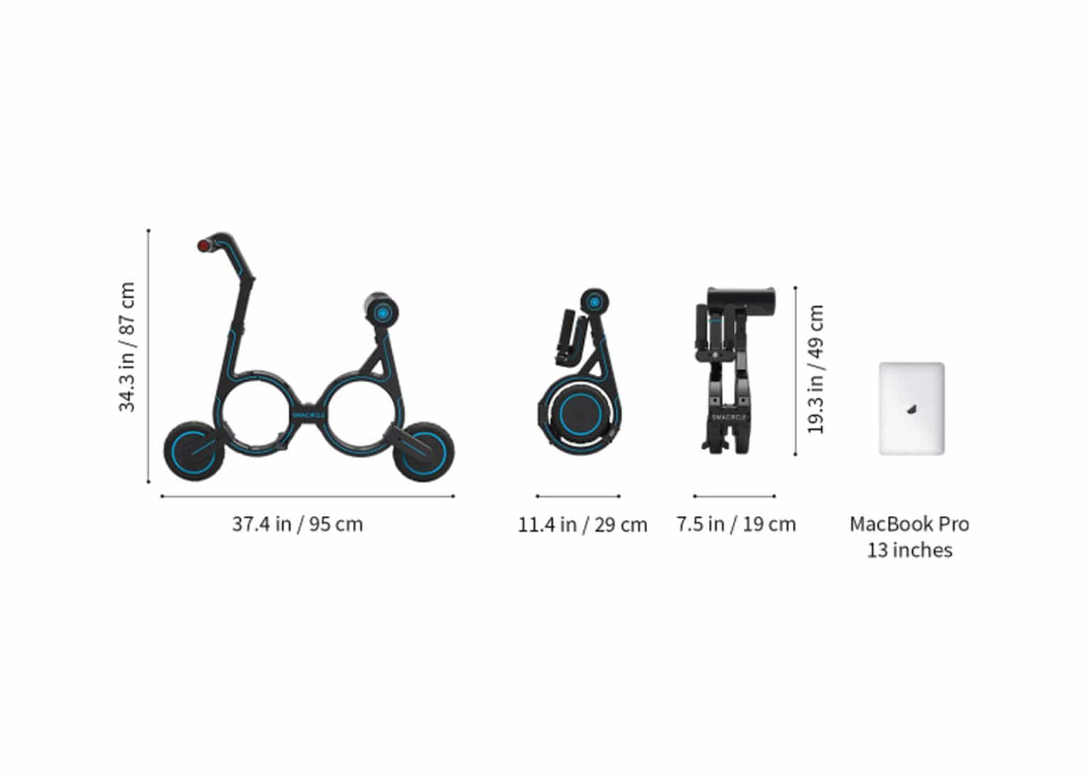The Smacircle S1 Foldable Electric Bike