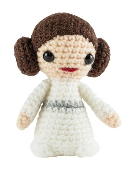 Star Wars Häkelset mit Prinzessin Leia Häkelfigur