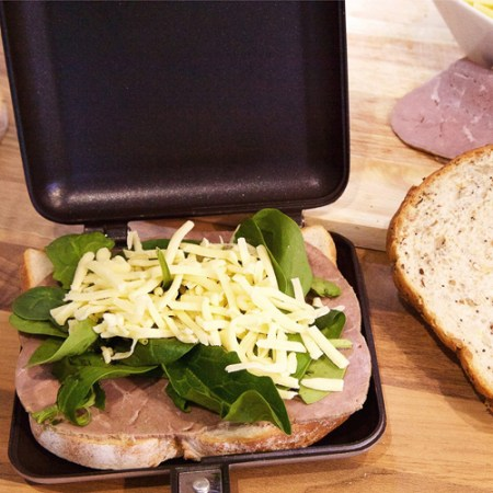 Outdoor Camping Toaster - Reise-Grill für Camping Kocher
