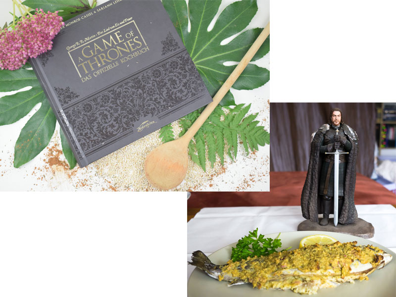 Game of Thrones Staffel 7 Kochbuch