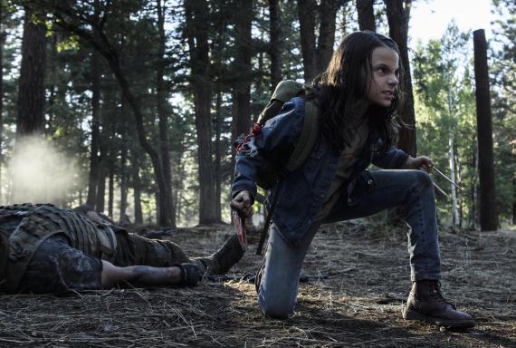 Logan The Wolverine Dafne Keen als X-23
