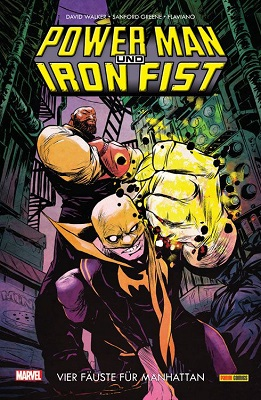 Power Man und Iron Fist Band 1 Comic Rezension Review
