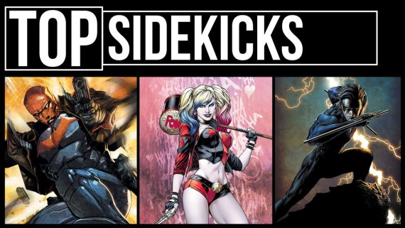 Top 10 Sidekicks Marvel DC Video