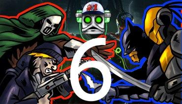 Injustice Folge 6 Cosplayer im Krieg Marvel vs. DC