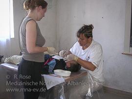 Medizinische Nothilfe Albanien