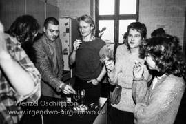 Vernissage Frank Mischok   7. Januar 1989
