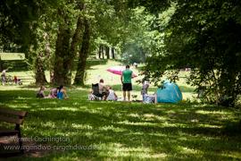 Magdeburg - Elbufer | Rotehornpark