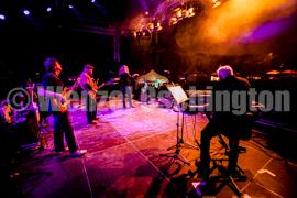 Karussell beim Impro Rock Open Air in der Festung Mark