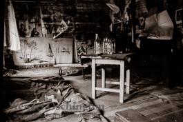 Lager auf dem Dachboden | Magdeburg 1989