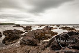 Am Strand von  Ballantrae – schottische Westküste