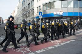 Polizeieinsatz - Magdeburg - 2014