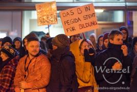 No MAGIDA - Demonstranten Breiter Weg