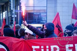 Antifa-Demonstration - Magdeburg Innenstadt