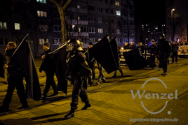 Neonazis - Aufmarsch Magdeburg