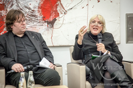 Podiumsdiskussion Magdeburger Rathaus -   Lars Johansen / Claudia Roth
