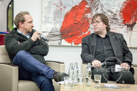 Podiumsdiskussion Magdeburger Rathaus - Falko Grube /  Lars Johansen