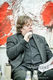 Moderator Lars Johansen
