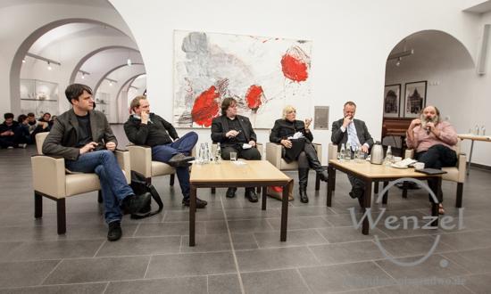 Ziviler Ungehorsam und friedliche Blockaden - Podiumsdiskussion im Magdeburger Rathaus