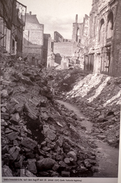 Ruinen - Magdeburg nach dem Bombenangriff  16.1.1945