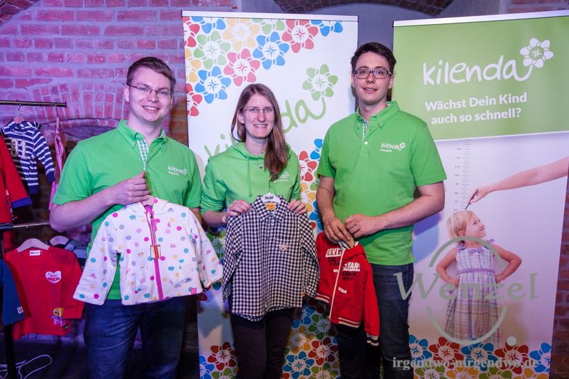 Kilenda verleiht Kinderbekleidung