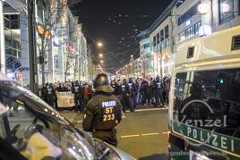 MAGIDA vs. NO MAGIDA  –  Magdeburg demonstriert  –  23. 3. 2015