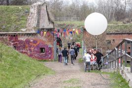Benefiz–Open–Air zur Sanierung der 140 Jahre alten Festungsanlage  Ravelin 2