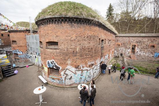 Doppelkaponniere –  hier soll eine Ausstellung zur Festungs- und Garnisionsgeschichte entstehen