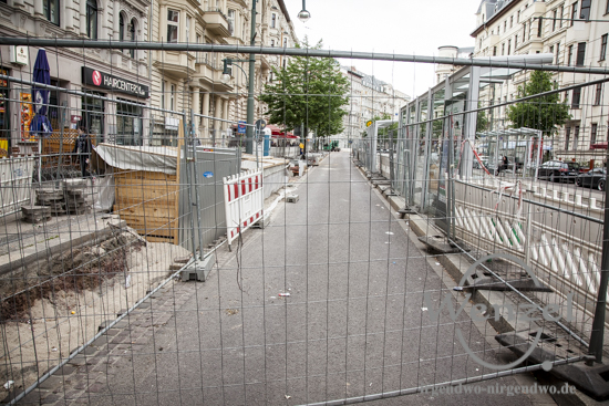 Baustelle Hasselbachplatz - Magdeburg