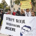 Geflüchtetendemo gegen rassistische Asylgesetze - Magdeburg