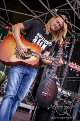 Christian Haase beim Festival Gundis Lieder – Gundis Themen im freiLand Potsdam