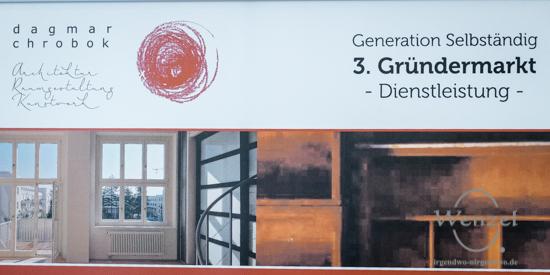 Dagmar Chrobok - Architektur / Raumgestaltung / Kunstwerk - Gründermarkt Magdeburg 2015