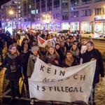 Wer aufsteht muss auch tanzen …  Magdeburger  gegen Intoleranz und Nationalismus