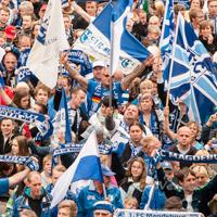 FCM feiert Aufstieg in die 3. Liga – Party Alter Markt Magdeburg