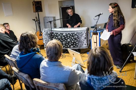 """Wenn das Kind fragt...""""  musikalische Lesung mit Constanze Krüger & Frank Mc Coffin"""