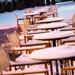Es hat geschneit in Magdeburg