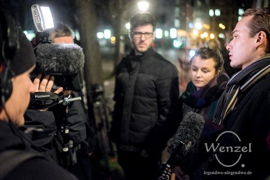Initiatoren der Mahnwache geben Interview für ARD-Magazin  MONITOR